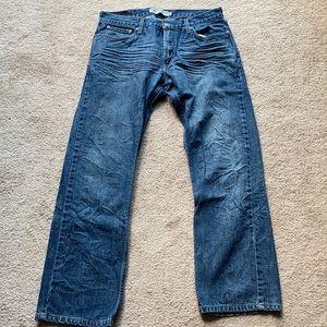 Slim straight jeans! 34x30